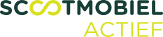 Scootmobiel actief logo